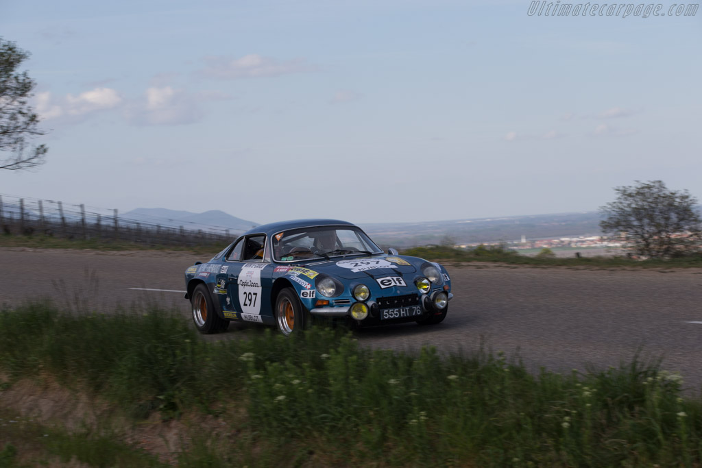 Alpine A110 1800 Group IV - Chassis: 18291 - Driver: Christian Chambord / Stephane Baschiera  - 2014 Tour Auto