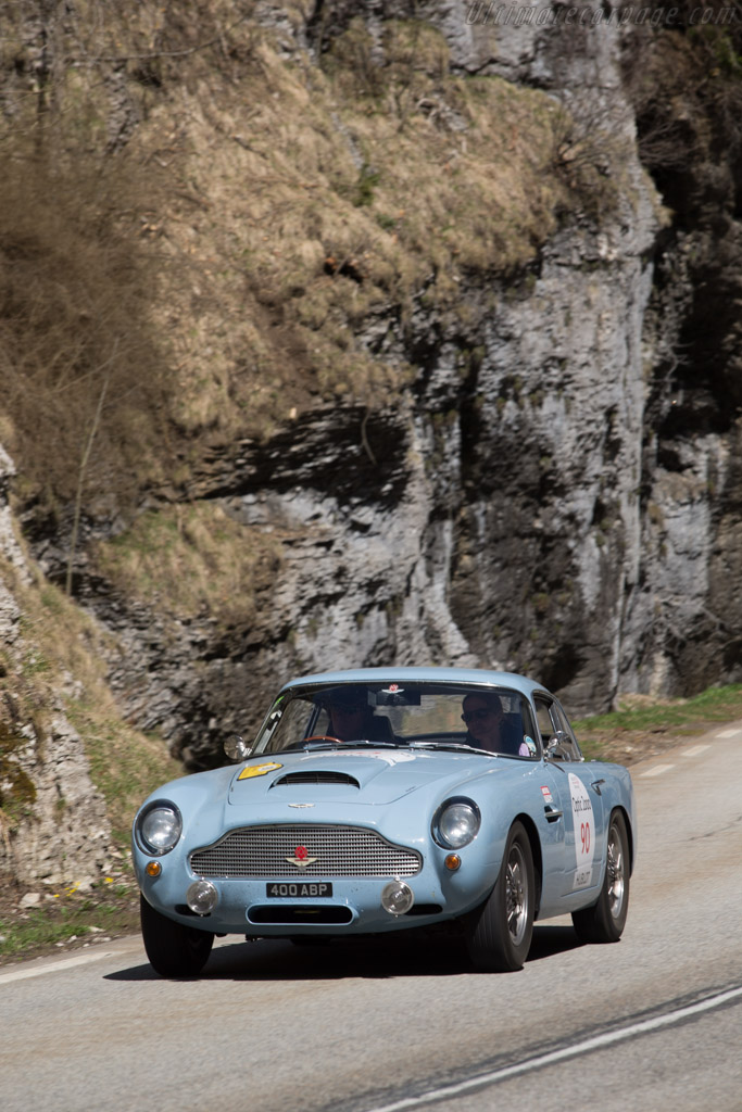 Aston Martin DB4 GT - Chassis: DB4GT/0136/R - Driver: Anthony P. Moody / Gabrielle Moody  - 2014 Tour Auto