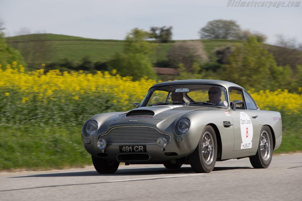 Aston Martin DB4 GT - Chassis: DB4GT/0105/R - Driver: Jean Marc Krief / Richard Braun  - 2014 Tour Auto