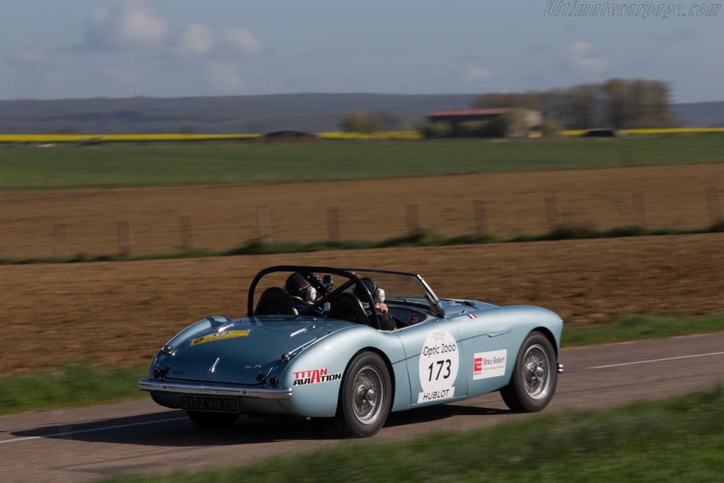 Austin Healey 100/4 - Chassis: 220559 - Driver: Franck Augis / Gilles Christophe  - 2014 Tour Auto