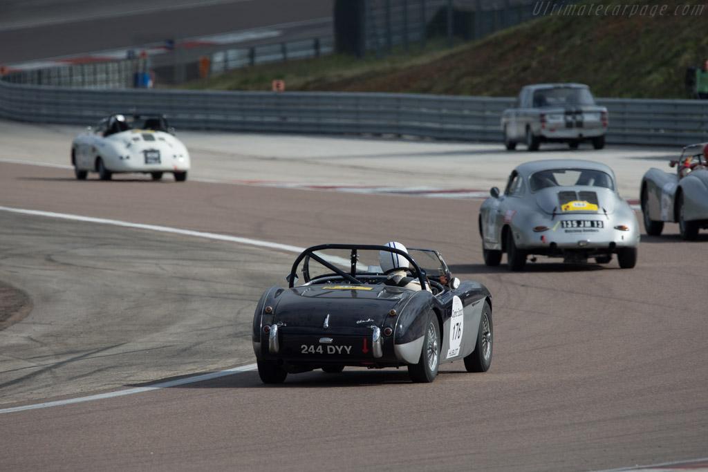 Austin Healey 100 M - Chassis: BN2/2231182 - Driver: Patrick Rignal / Sebastian Wolf  - 2014 Tour Auto