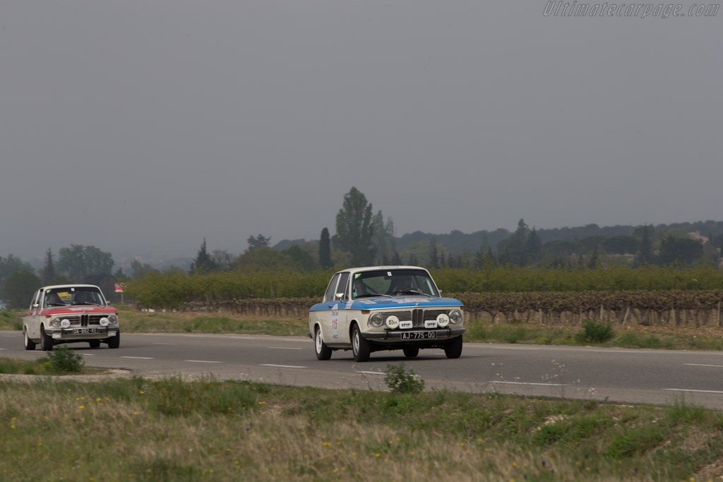BMW 1600 - Chassis: 1892202 - Driver: Jean Paul Lecombe / Adrien Lecombe  - 2014 Tour Auto