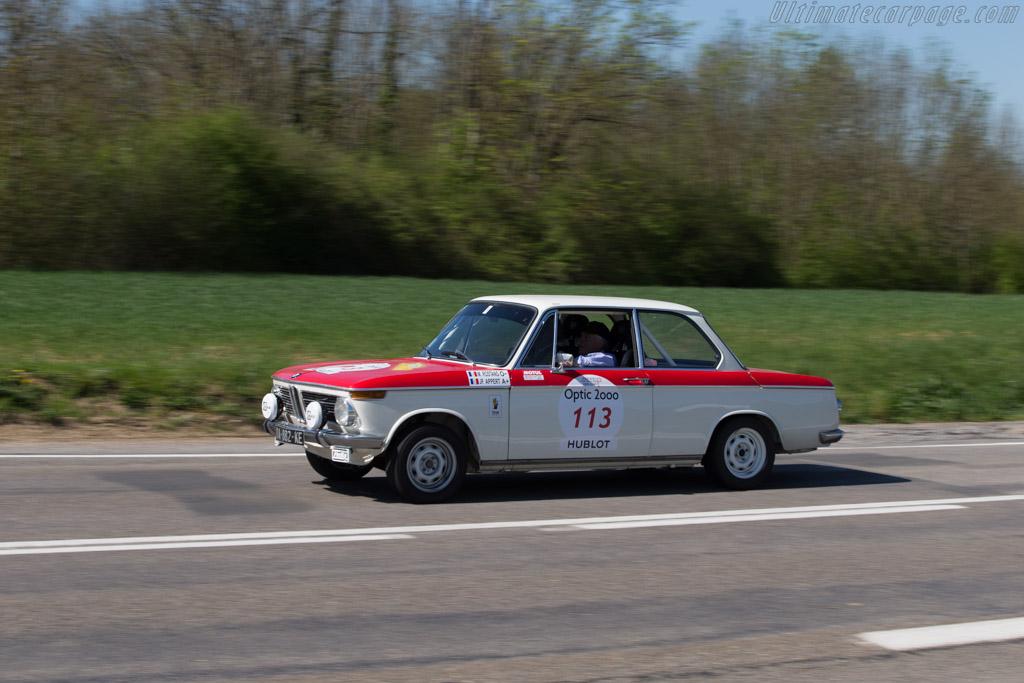 BMW 2002 TI  - Driver: Michel Rostang / Jean Pierre Appert  - 2014 Tour Auto