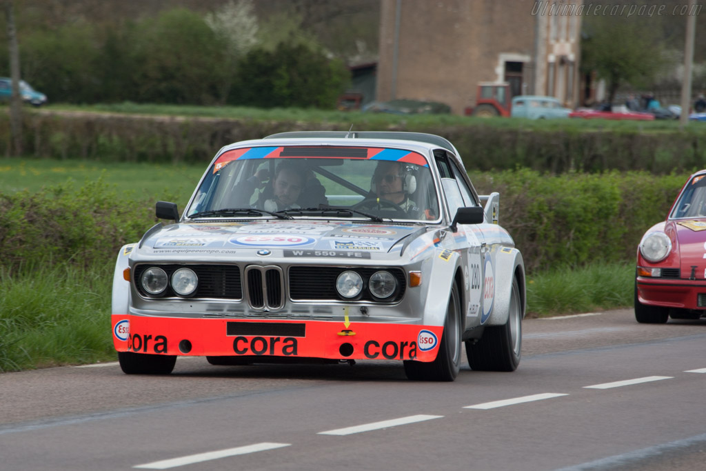 BMW 3.0 CSL - Chassis: 2275454 - Driver: Christian Baud / William Baud  - 2014 Tour Auto