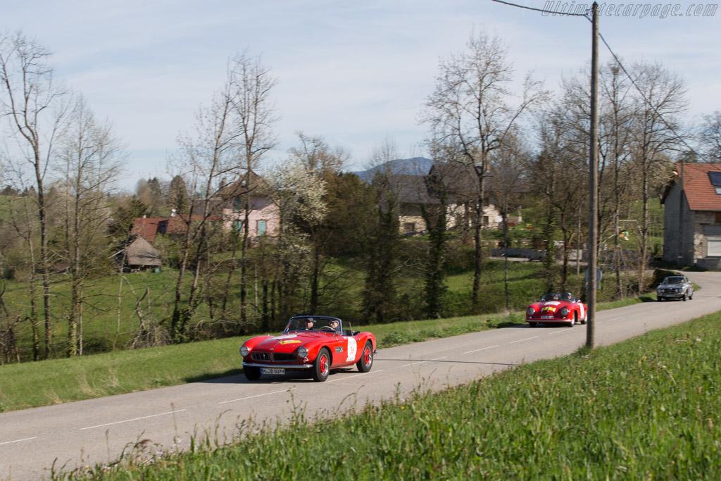 BMW 507  - Driver: Patrick Lucas / Serge Naudin  - 2014 Tour Auto