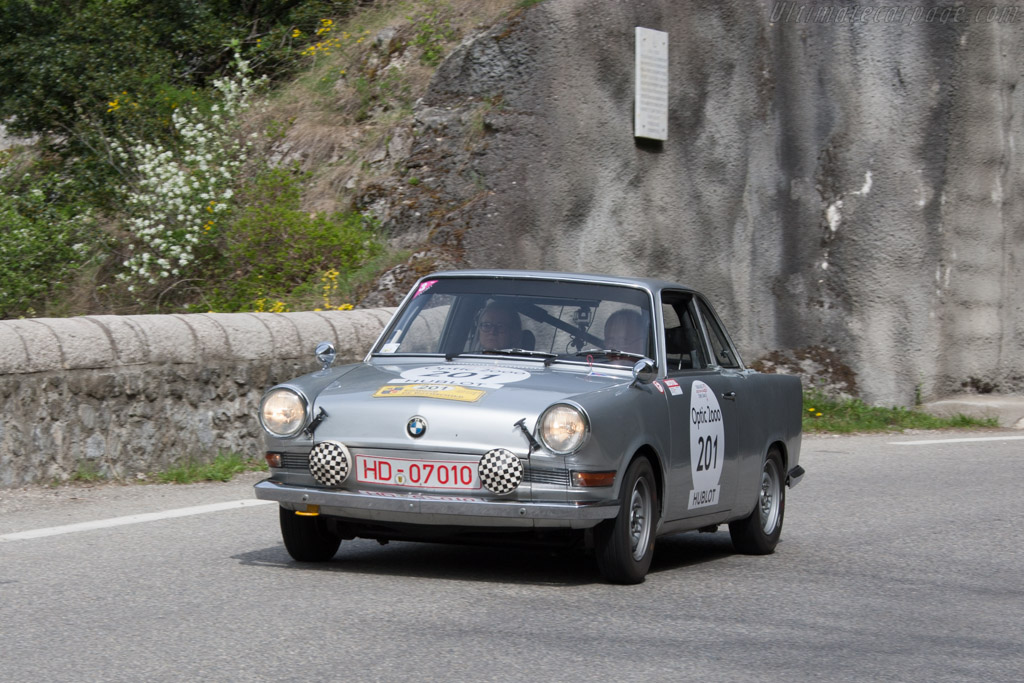 BMW 700 S - Chassis: 192030 - Driver: Siegfried Brunn / Gertrud Brunn  - 2014 Tour Auto