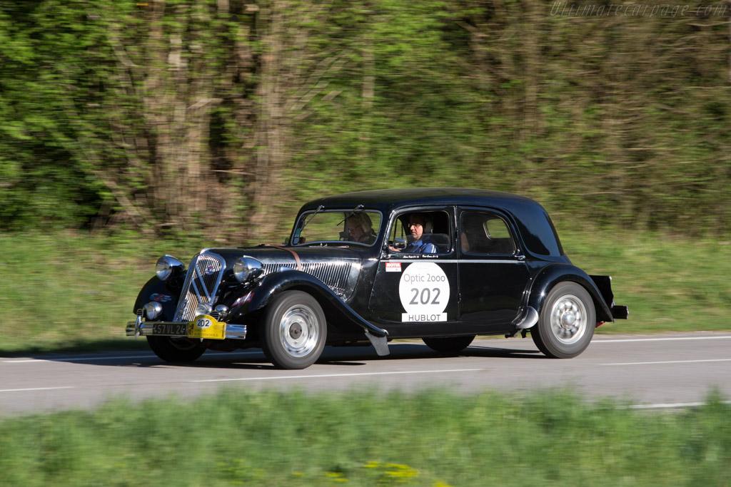 Citroën 15 Six - Chassis: 696696 - Driver: Alain Petit / Rene Caron  - 2014 Tour Auto