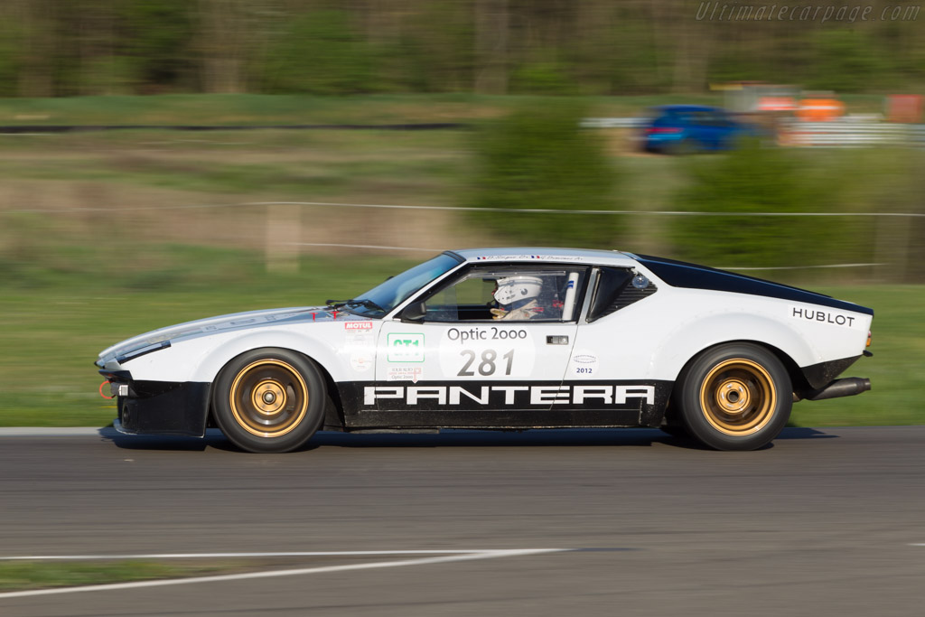 DeTomaso Pantera Group IV - Chassis: 04834 - Driver: Didier Sirgue / Gerard Dunesme   - 2014 Tour Auto