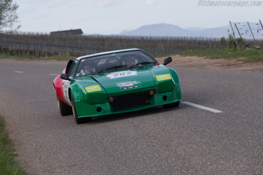 DeTomaso Pantera Group IV - Chassis: 04208 - Driver: Norbert Fradin / Claire Fradin  - 2014 Tour Auto