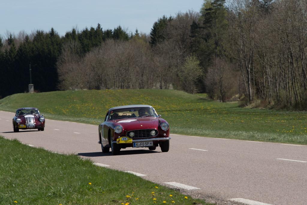 Ferrari 250 GT Boano Coupe - Chassis: 0661GT - Driver: Ludwig Willisch / Norbert Schmitz Koep  - 2014 Tour Auto