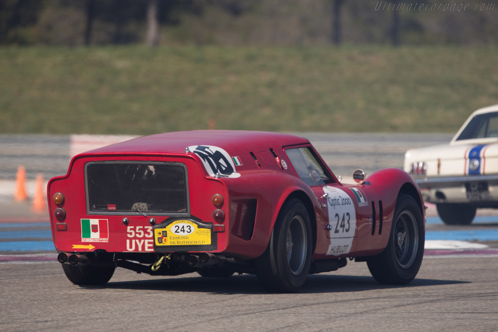 Ferrari 250 GT SWB Breadvan - Chassis: 2819GT - Driver: Martin Halusa / Nicola Von Donhoff  - 2014 Tour Auto