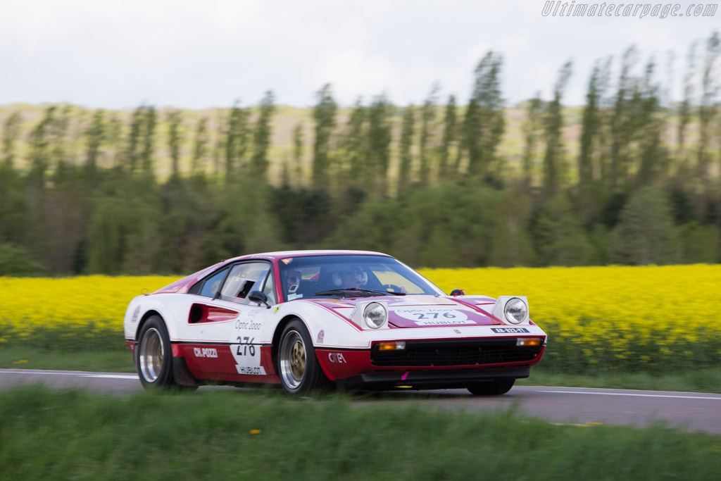 Ferrari 308 GTB Group 4 - Chassis: 20905 - Driver: Chirstophe Grenier / Guillaume Puget  - 2014 Tour Auto