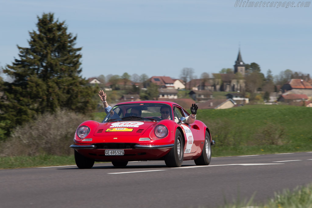 Ferrari Dino 246 Gt Chassis 01324 Driver Mikael Lok