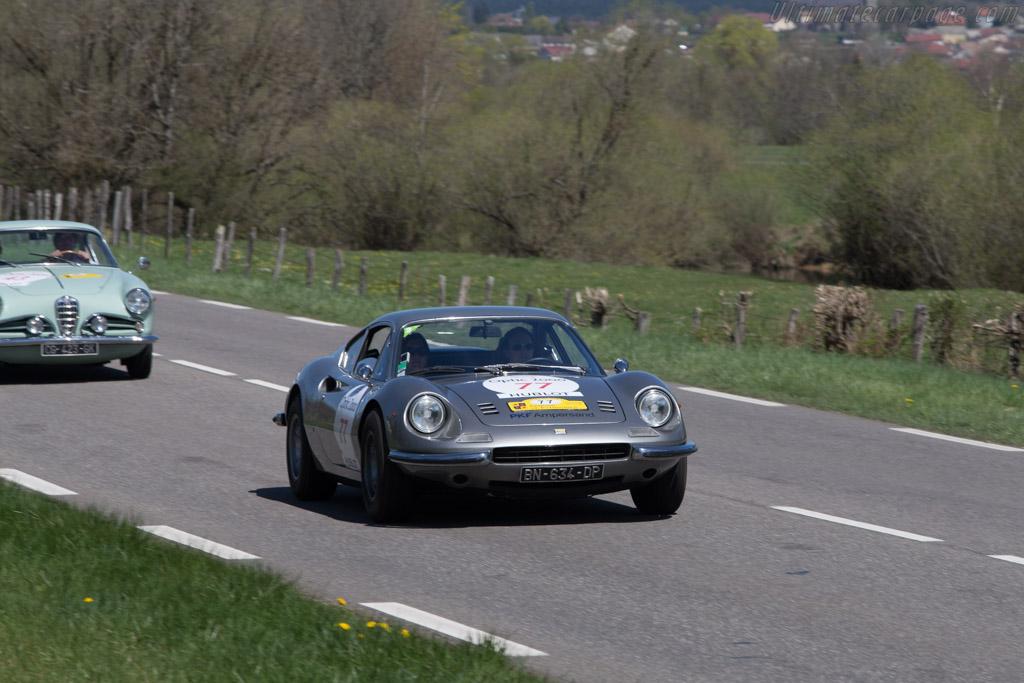 Ferrari Dino 246 GT - Chassis: 06692 - Driver: Joelle Housseau / Marjorie Cardot  - 2014 Tour Auto
