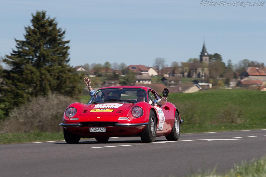 Ferrari Dino 246 GT - Chassis: 01324 - Driver: Mikael Lok / Mathieu Vedrenne  - 2014 Tour Auto