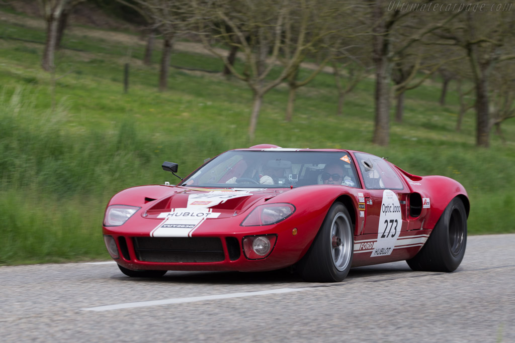 Ford GT40 - Chassis: GT40P/1089 - Driver: Philippe Vandromme / Frederic Vivier  - 2014 Tour Auto