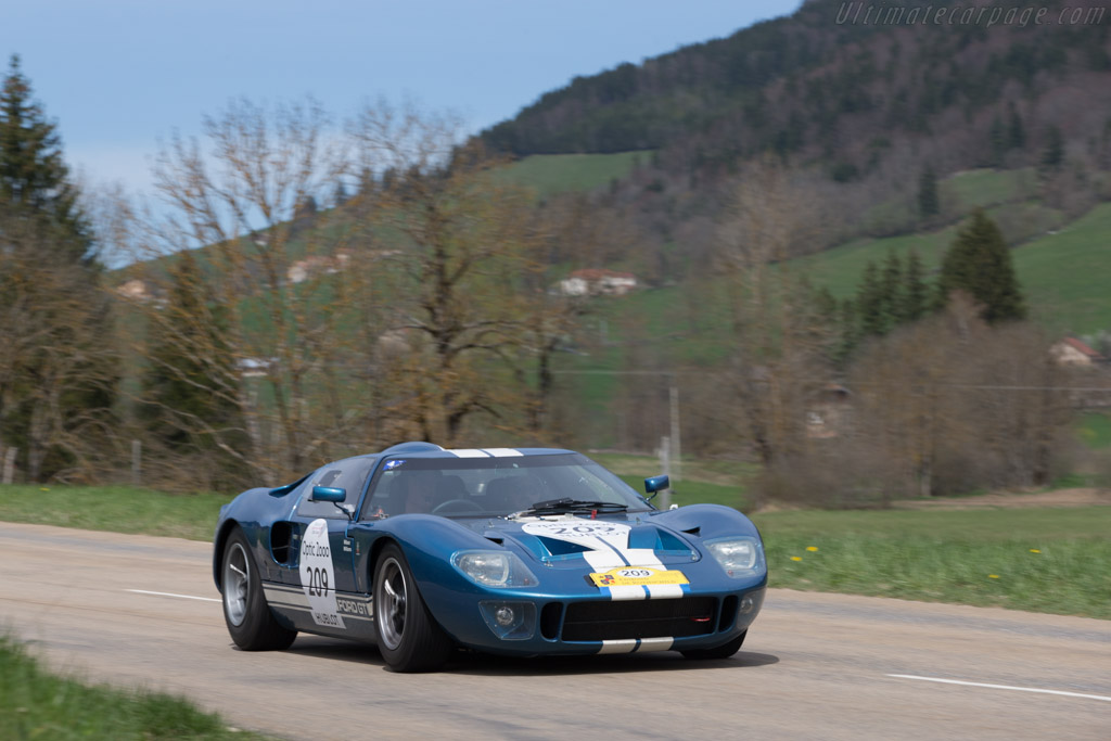 Ford GT40 - Chassis: GT40P/1018 - Driver: Chris Wilson / Nigel Williams  - 2014 Tour Auto