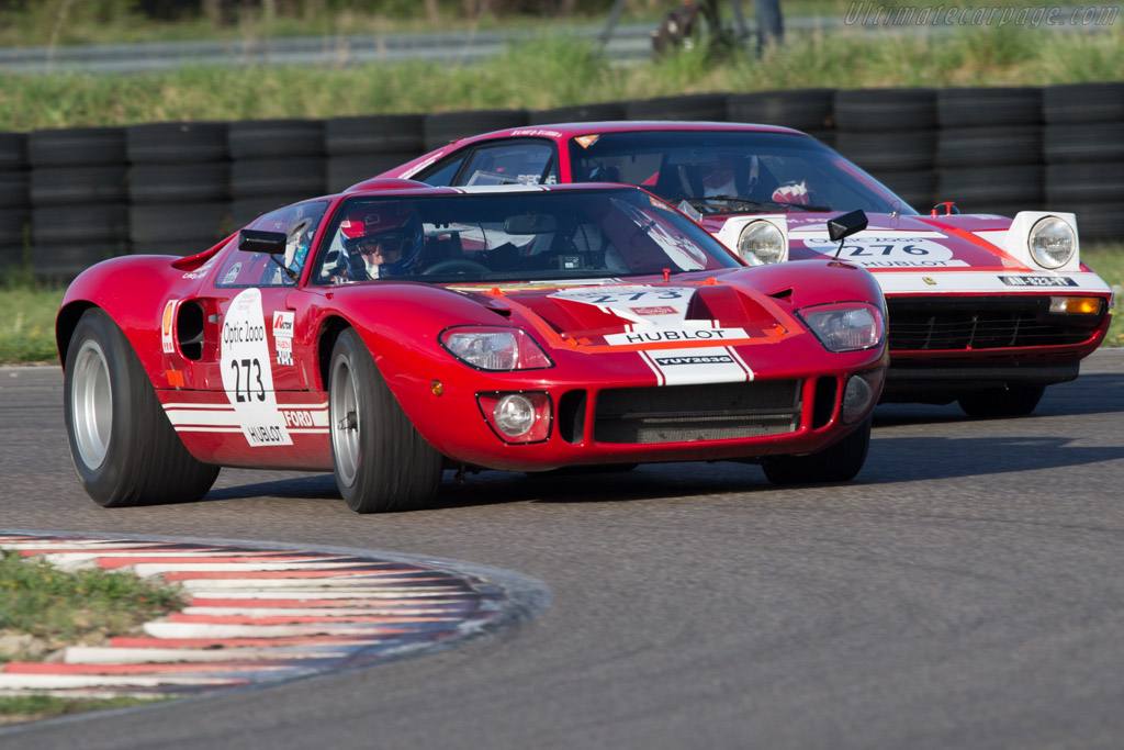 Ford GT40  - Driver: Philippe Vandromme / Frederic vivier  - 2014 Tour Auto