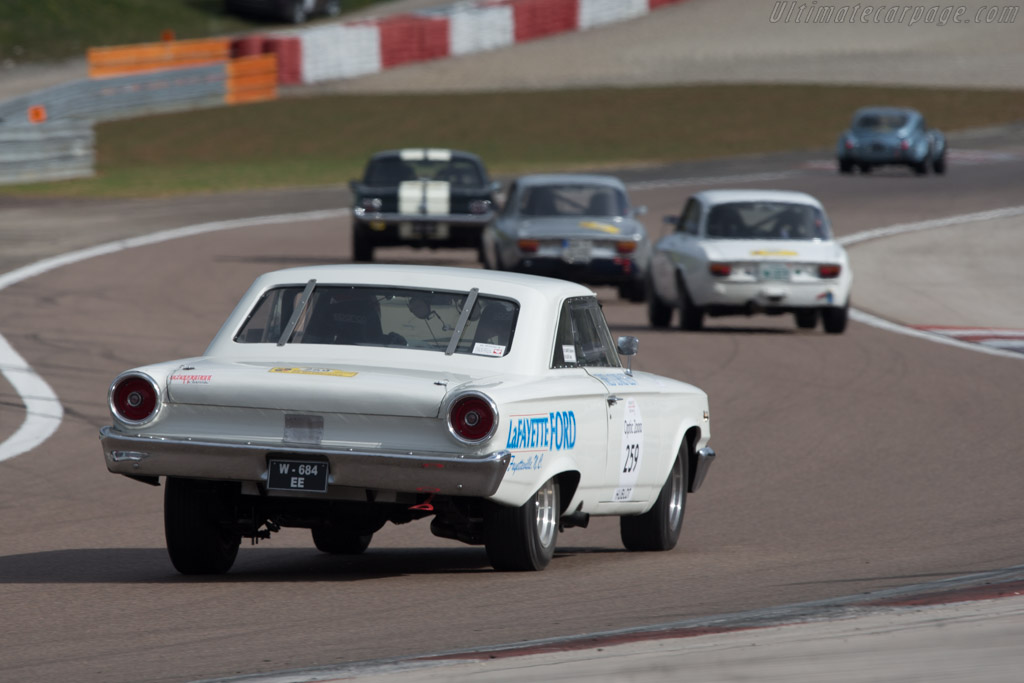 Ford Galaxie - Chassis: 3A662169771 - Driver: Stephane Sabates / Cathy Legat  - 2014 Tour Auto