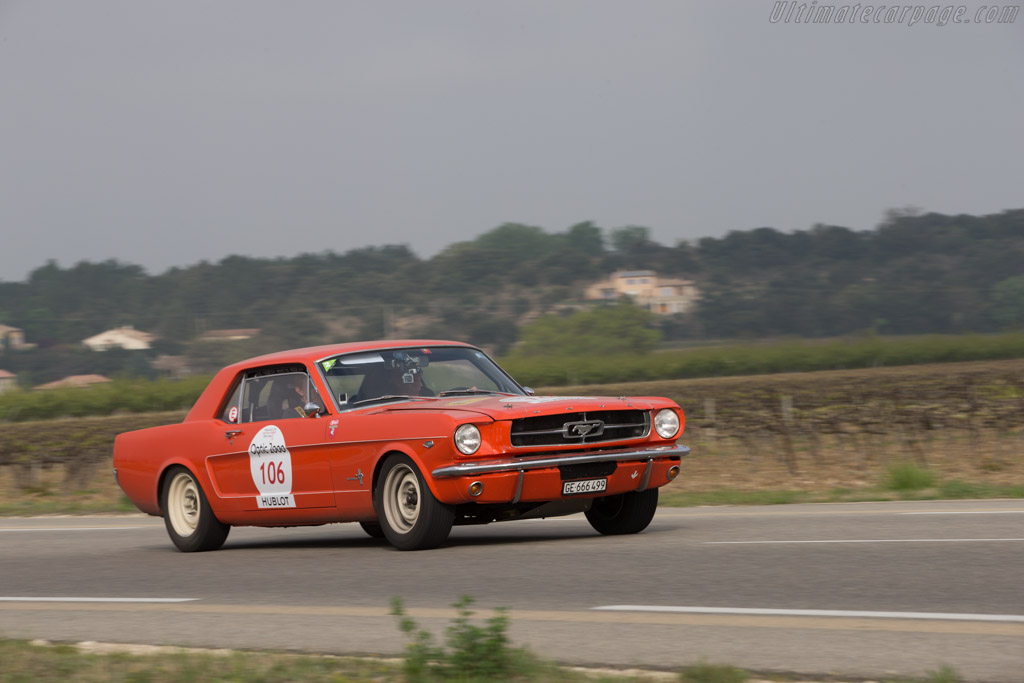 Ford Mustang GT - Chassis: 5R07K216584 - Driver: Michel Firmenich / Nicolas Firmenich  - 2014 Tour Auto