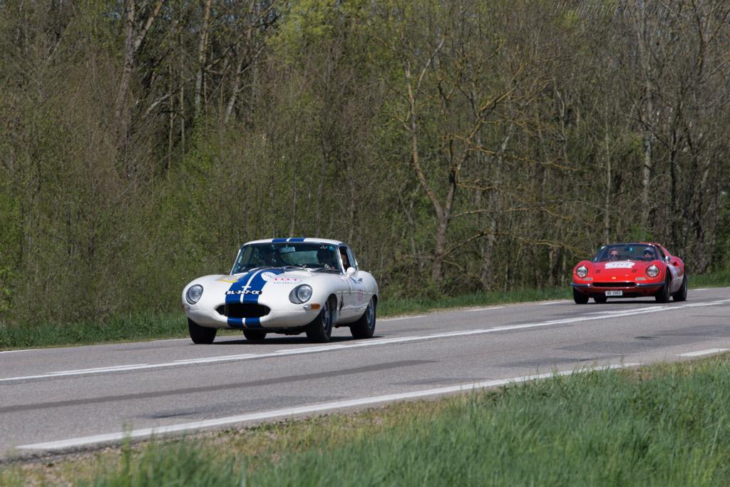 Jaguar E-Type Coupe - Chassis: 886348 - Driver: Jean Brandenburg / Jean Luc George  - 2014 Tour Auto