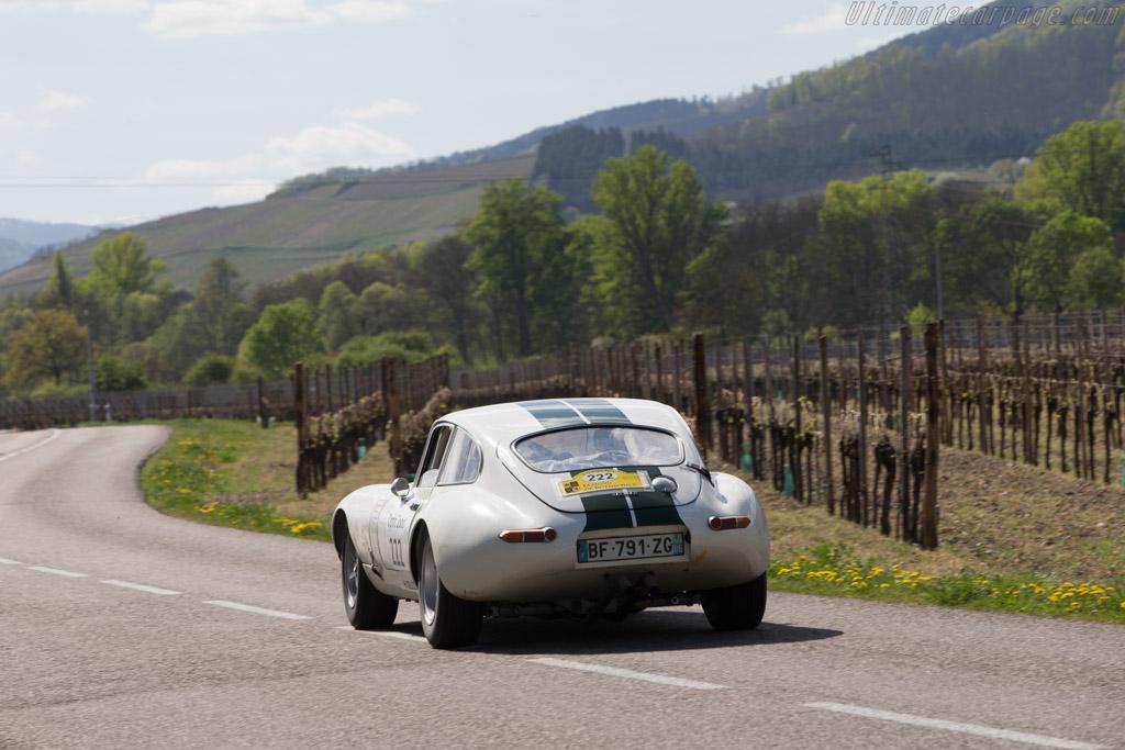 Jaguar E-Type Coupe  - Driver: Philippe Giauque / Pierre de Freundenreaich  - 2014 Tour Auto