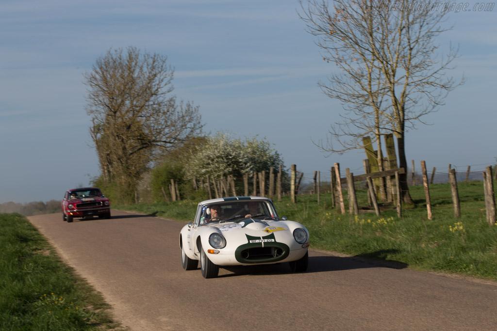 Jaguar E-Type Coupe  - Driver: Philippe Giauque / Pierre de Freundenreich  - 2014 Tour Auto