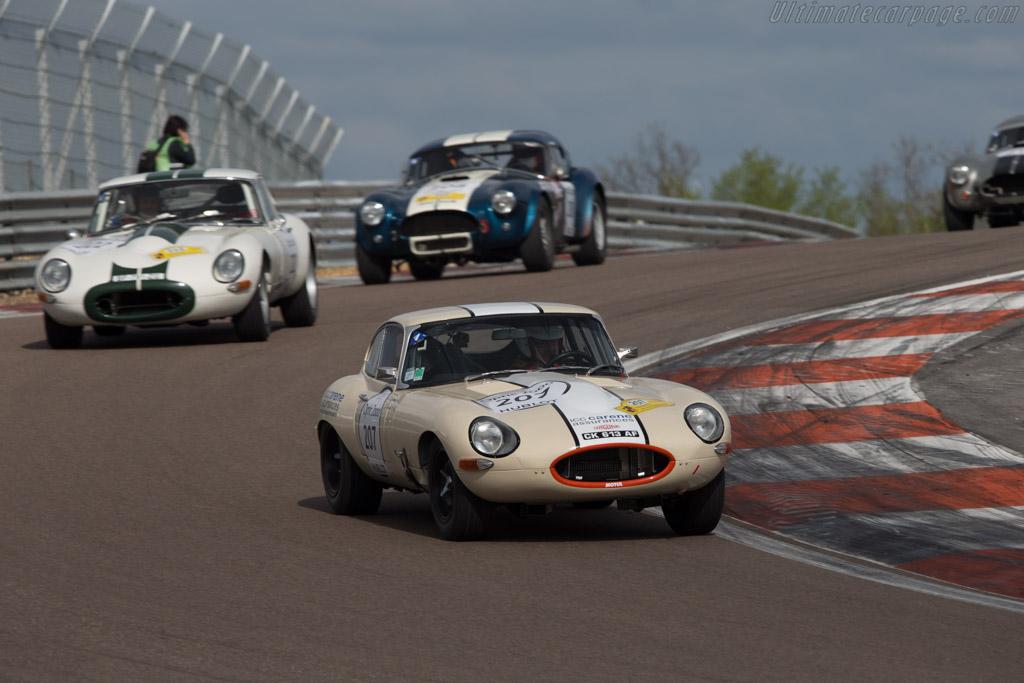Jaguar E-Type Coupe - Chassis: 888825 - Driver: Jean Pierre Lajournade / Christophe Bouchet  - 2014 Tour Auto