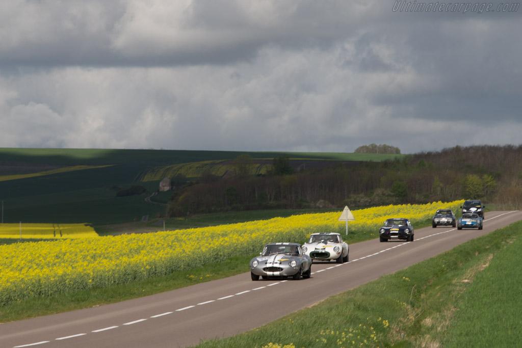 Jaguar E-Type Coupe - Chassis: 860343 - Driver: Ludovic Le Boeuf / Delphine Le Boeuf  - 2014 Tour Auto