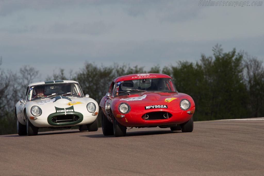 Jaguar E-Type Roadster  - Driver: Hugo Payen / Tristan Couedel  - 2014 Tour Auto