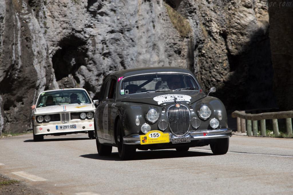 Jaguar Mk I - Chassis: 993108 - Driver: Pierre le Gloahec-Henaff / Alexandre Breasseur  - 2014 Tour Auto