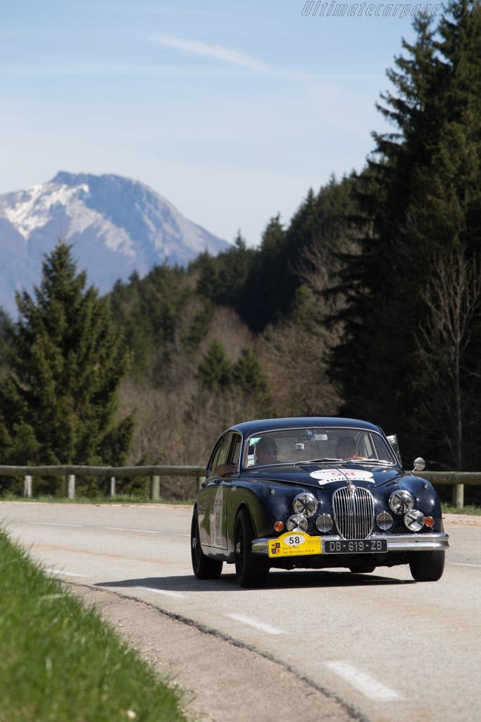 Jaguar Mk II - Chassis: 222552 - Driver: Jean Pierre Cave / Jean Pierre Soubirac  - 2014 Tour Auto