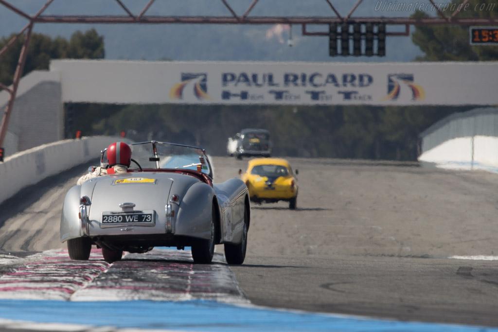 Jaguar XK120 - Chassis: 670390 - Driver: Didier Benaroya / Thomas Benaroya  - 2014 Tour Auto