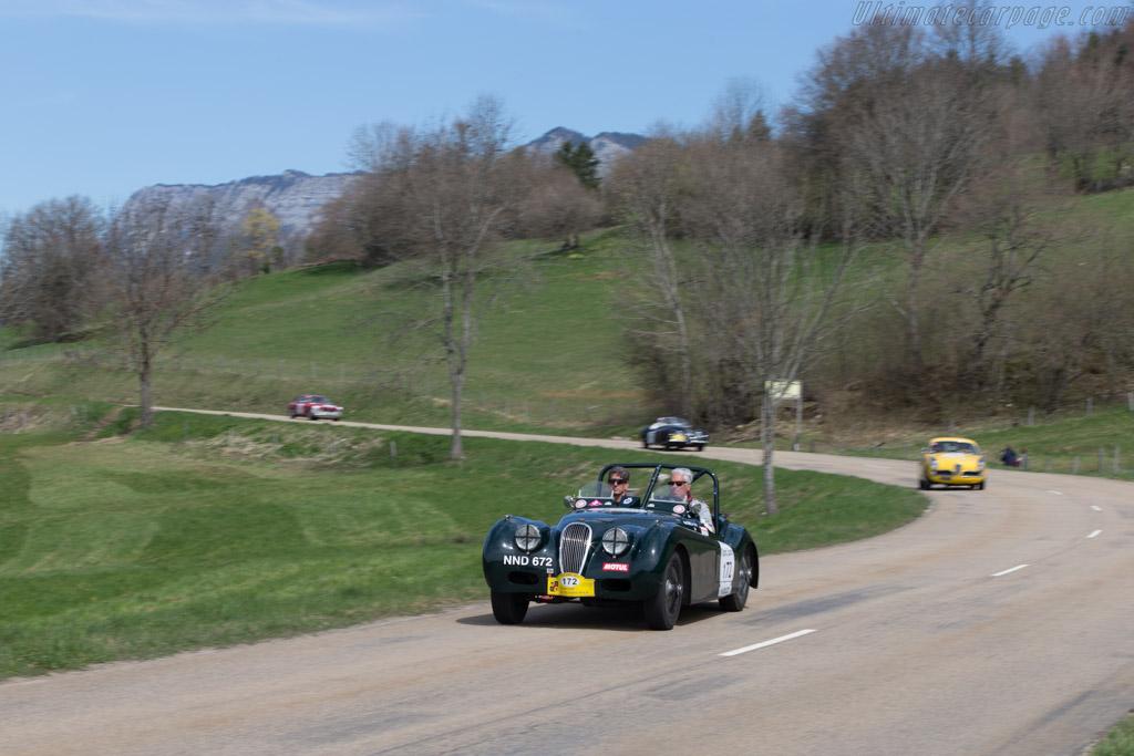 Jaguar XK120 - Chassis: 661044 - Driver: Peter Terrell / Michael Holland  - 2014 Tour Auto