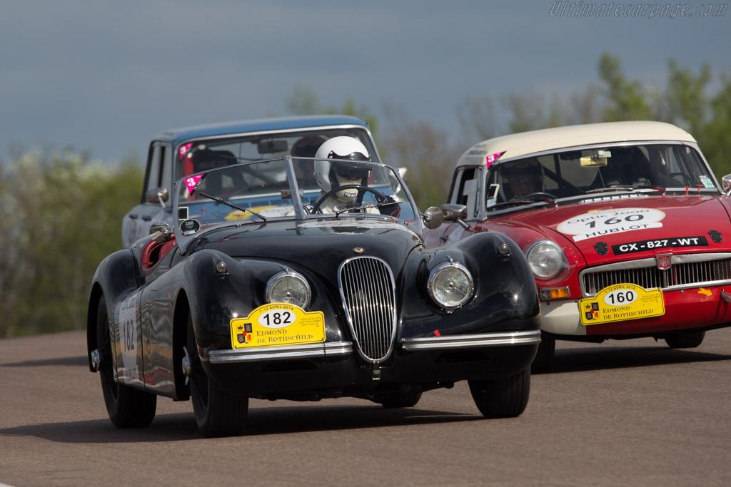 Jaguar XK120 - Chassis: 673392 - Driver: Christophe Germain / Jacques Antoine Ormond  - 2014 Tour Auto