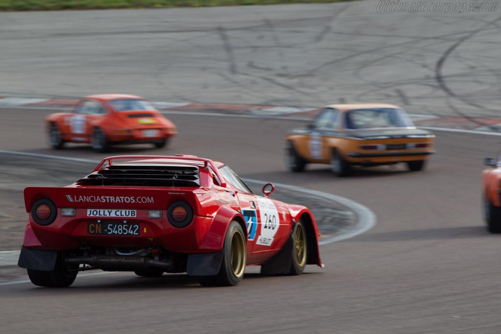 Lancia Stratos  - Driver: Eric Comas / Isabelle de Sadeleer  - 2014 Tour Auto