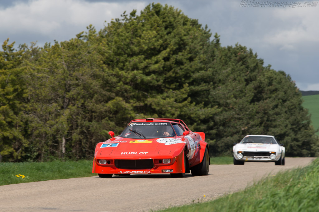 Lancia Stratos  - Driver: Erik Comas / Isabelle de Sadeleer  - 2014 Tour Auto