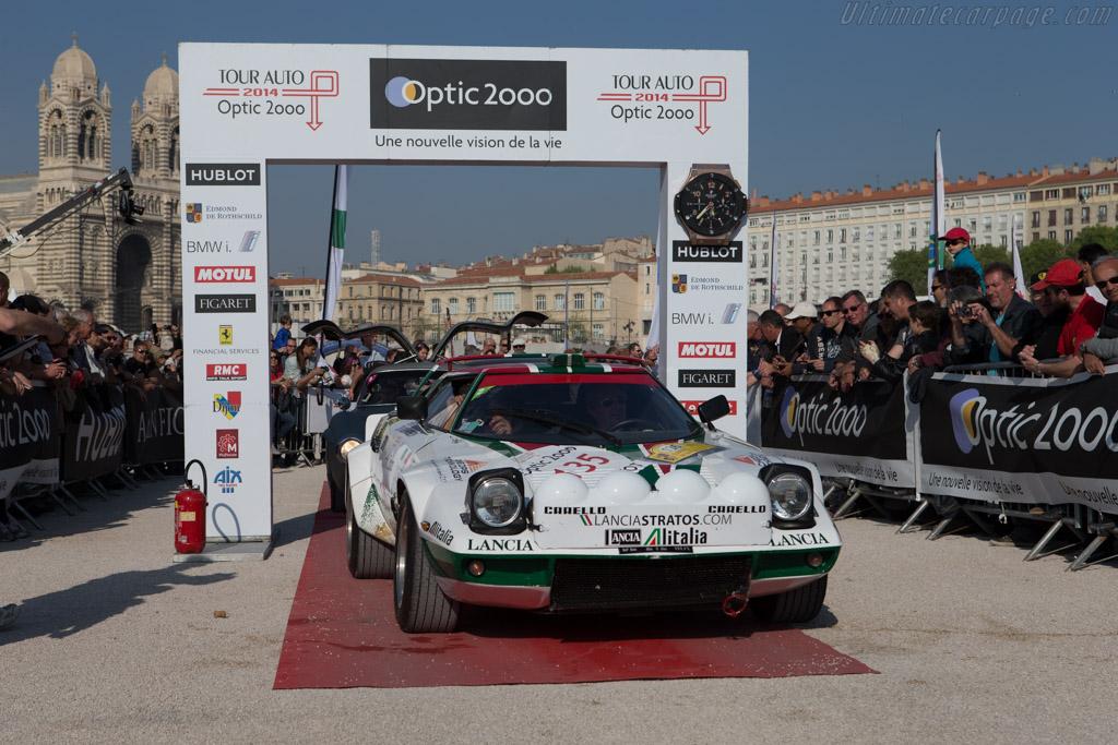 Lancia Stratos Group IV - Chassis: 829AR0 001849 - Driver: Michel Abellan / Andrej Friedman  - 2014 Tour Auto