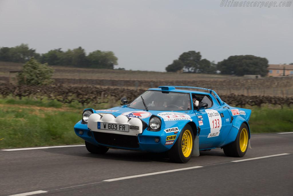 Lancia Stratos Group IV - Chassis: 829AR0 001773 - Driver: Abdoulla Althani / Patrick Roux  - 2014 Tour Auto