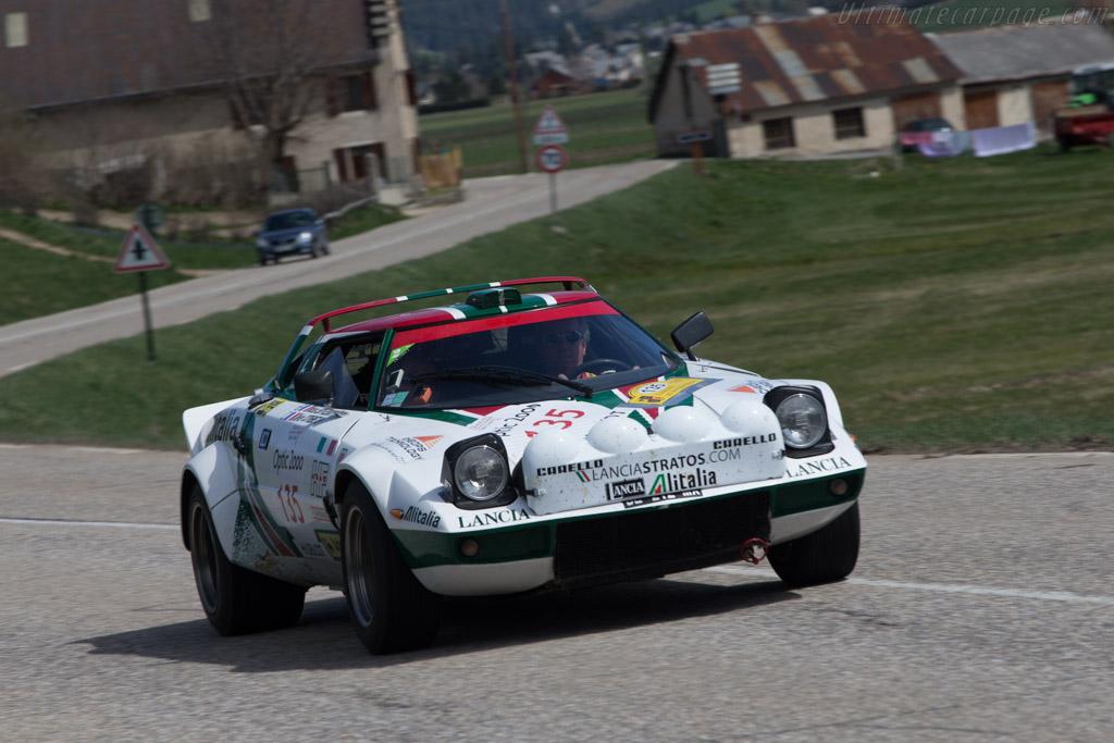 Lancia Stratos Group IV - Chassis: 829AR0 001849 - Driver: Nicolas Leroy-Fleuriot / Olivier Cothenet  - 2014 Tour Auto