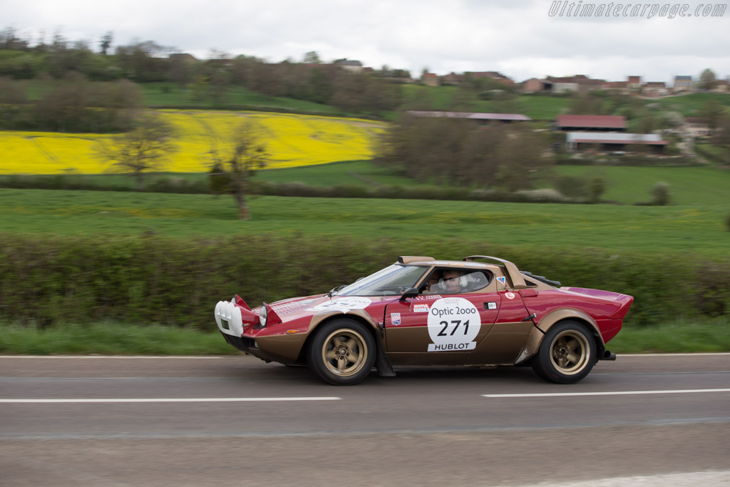 Lancia Stratos Group IV - Chassis: 829AR0 001581 - Driver: Pierre Alain France / Arnaud France  - 2014 Tour Auto