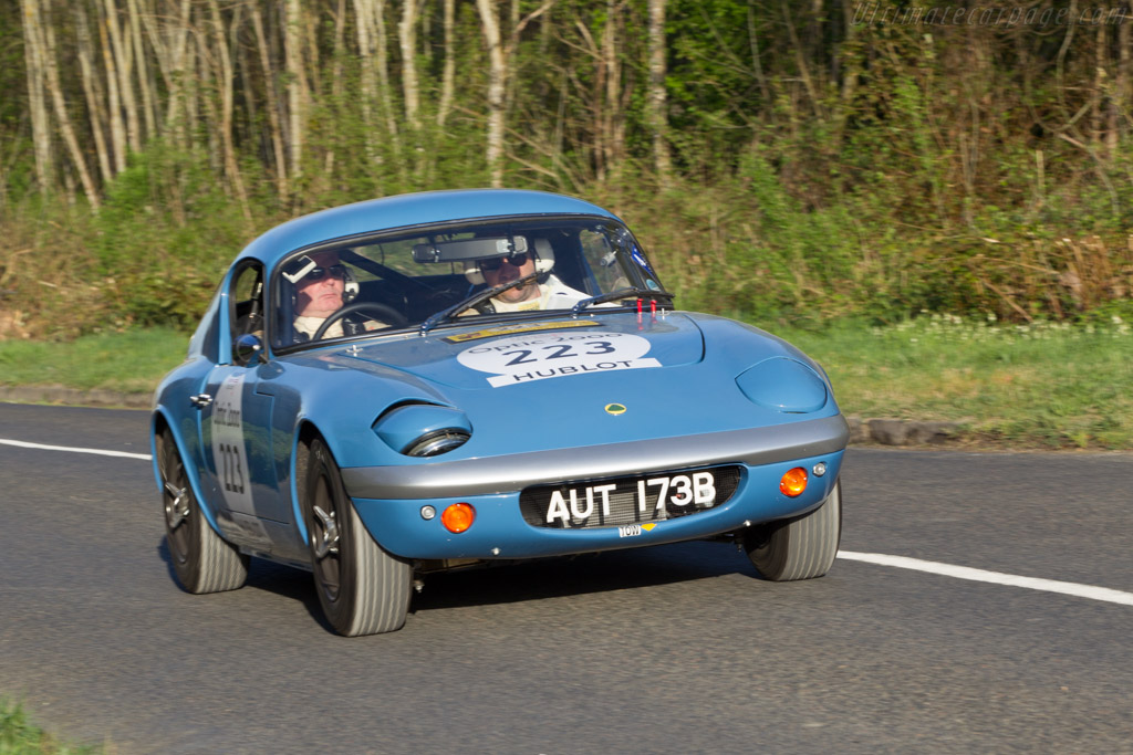 Lotus Elan 26R Shapecraft Coupe - Chassis: 26R-7 - Driver: Mike Humphreys / Ivor Dunbar  - 2014 Tour Auto