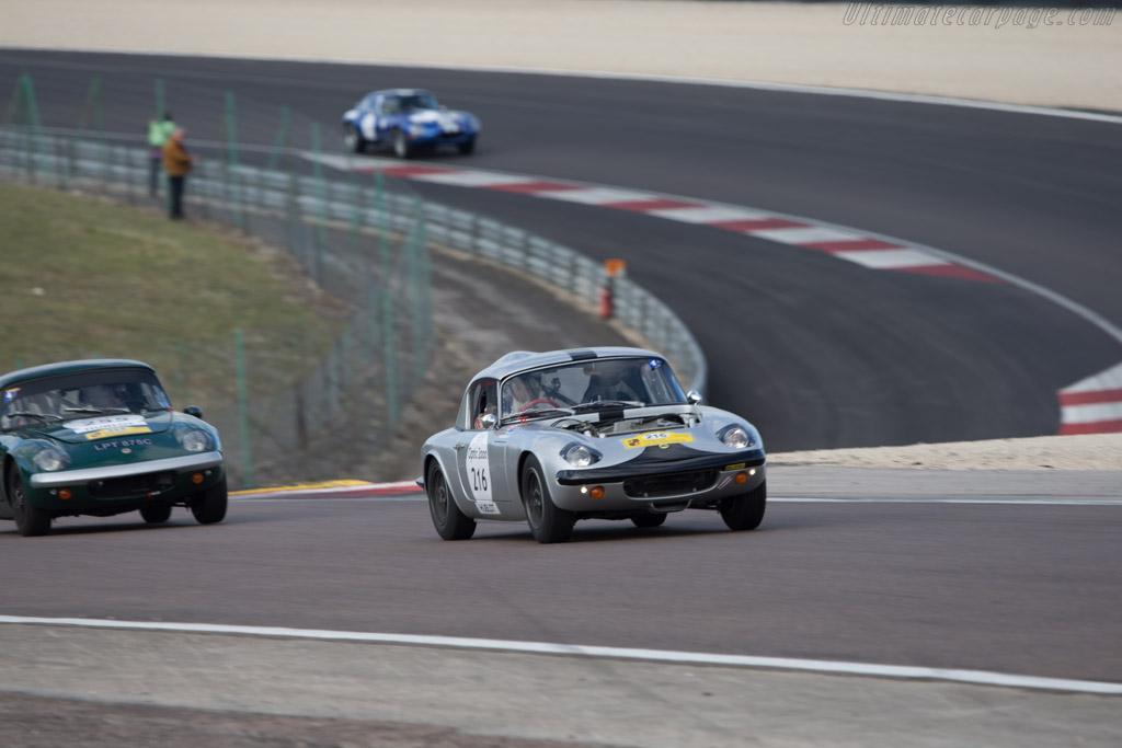 Lotus Elan - Chassis: 26-4708 - Driver: Damien Kohler / Sylvie Laboisne  - 2014 Tour Auto