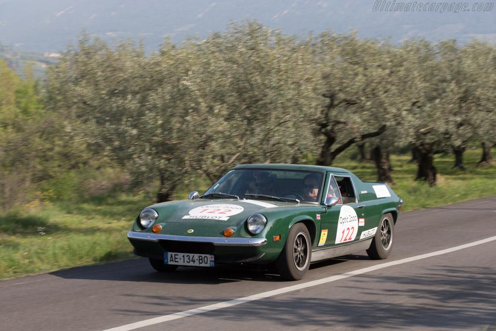 Lotus Europa Twin Cam  - Driver: Gabriel Viellard / Jean de Labriffe  - 2014 Tour Auto
