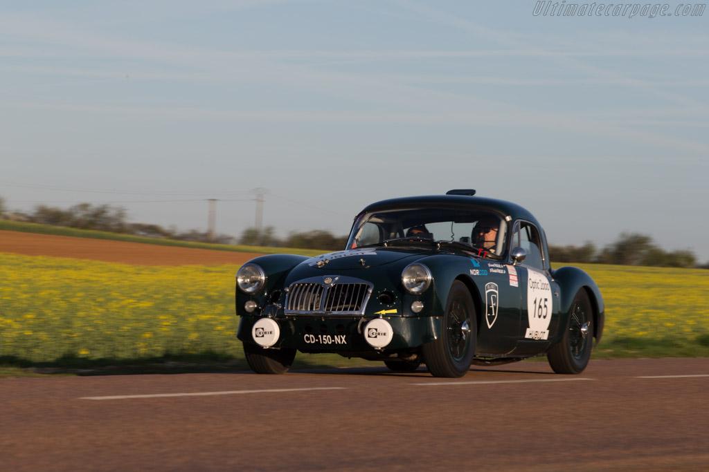 MG A - Chassis: GHDL79994 - Driver: Laurent Paulus / Elisabeth Paulus  - 2014 Tour Auto