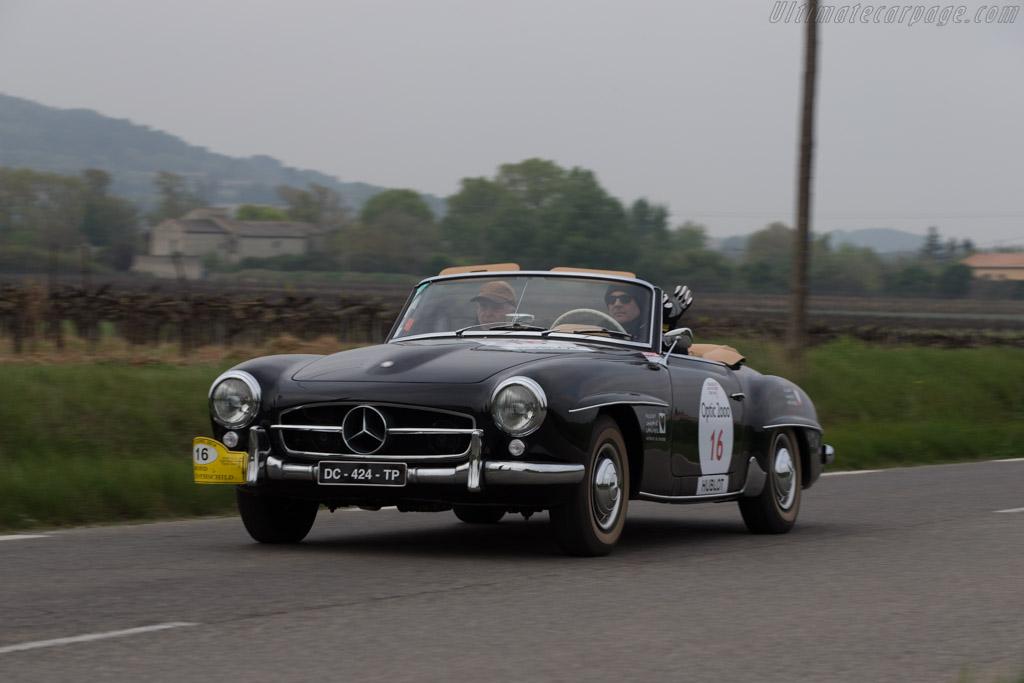 Mercedes-Benz 190 SL - Chassis: 121.042.1000374 - Driver: Jerome Stevens / Norbert Gautrin  - 2014 Tour Auto