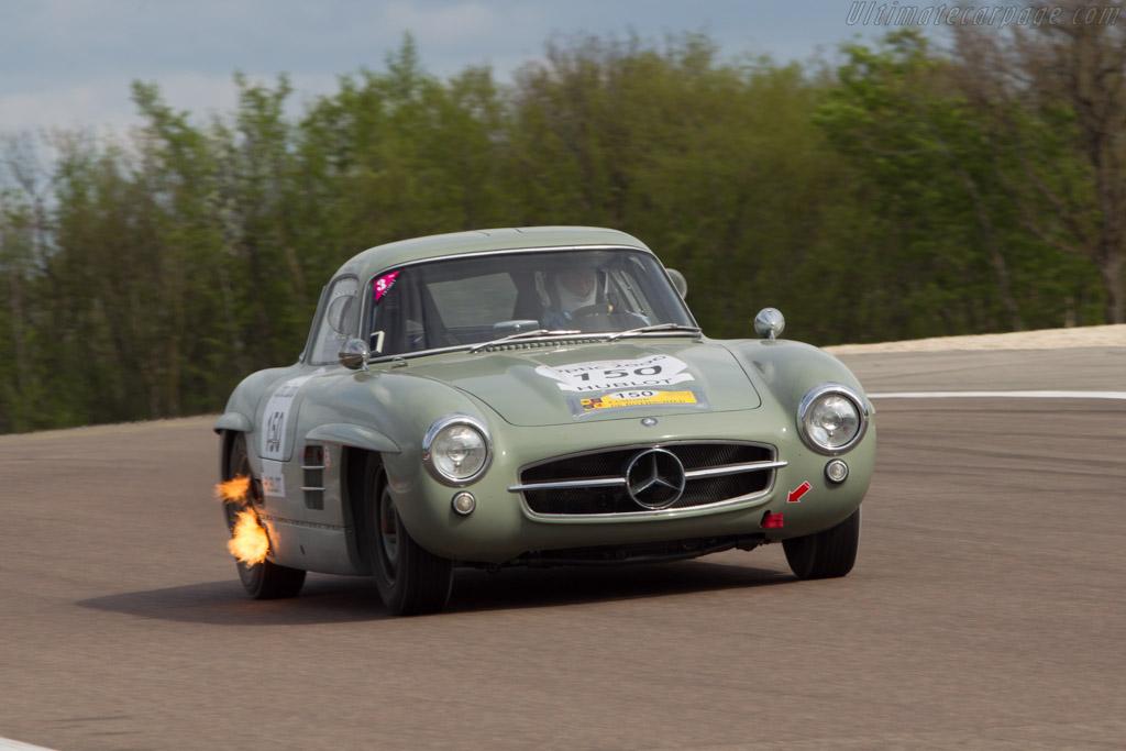 Mercedes-Benz 300 SL - Chassis: 198.040.5500449 - Driver: Bernardo Hartogs / Paul Chase-Gardener  - 2014 Tour Auto