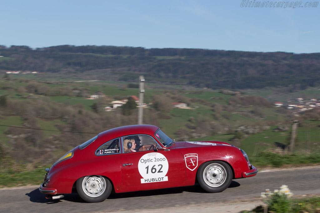 Porsche 356 - Chassis: 51858 - Driver: Frederic Puren / Caroline Bertrand  - 2014 Tour Auto