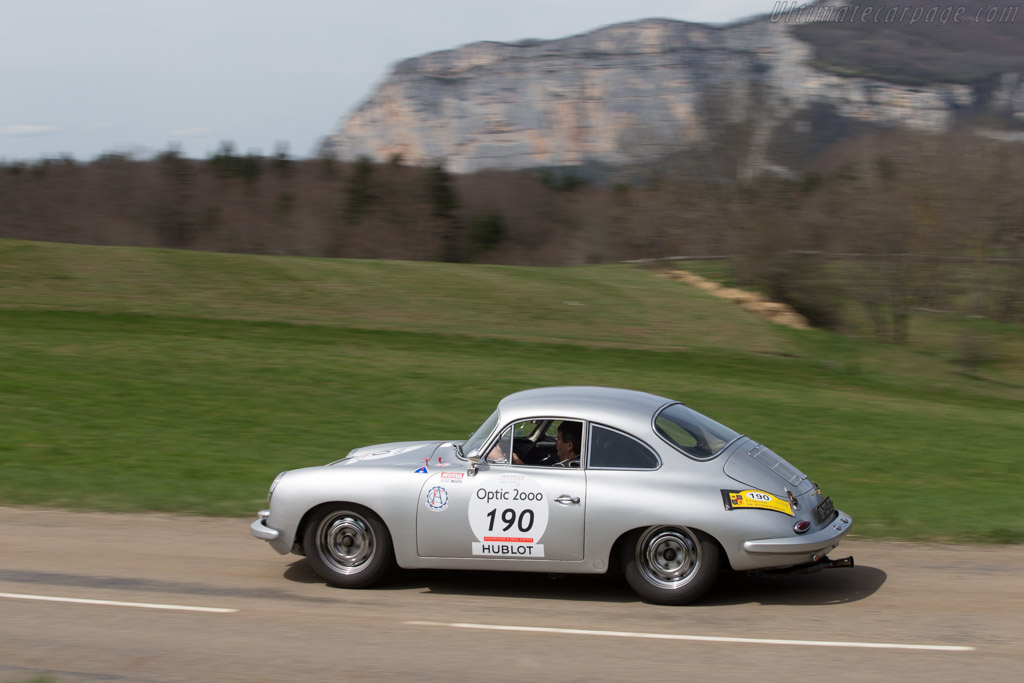 Porsche 356 C - Chassis: 221505 - Driver: Philippe Dischamp / Jean-Michel Moinade  - 2014 Tour Auto