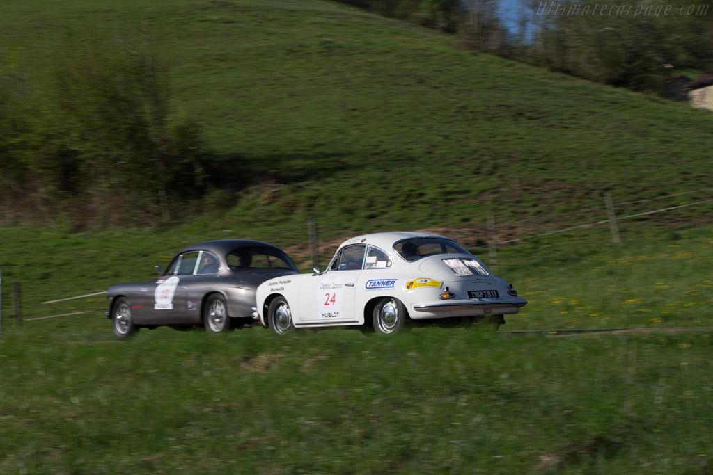 Porsche 356 SC - Chassis: 129628 - Driver: Jean-Hugues Plantavin / Olivier Rouge  - 2014 Tour Auto